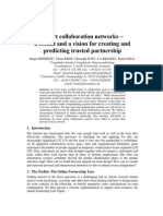 Smart collaboration networks