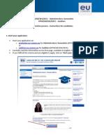 Instructions Exam Registration