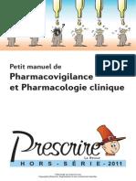 Prescrire Manuel Pharmacovig