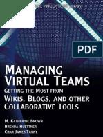 Wordware Managing Virtual Teams