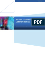 A Guide to Preparing Your Data for Tableau