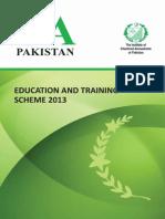 Education Training Scheme 2013