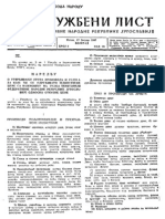 Službeni list FNRJ br.5 god. III  17.01.1947.