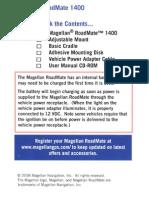 Magellan RoadMate 1400