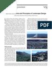 General Elements and Principles of Landscape Design