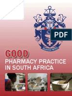 Good Pharmacy Practice, South African Pharmacy Council, 2010