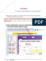 Tutorial test di autovalutazione in Smart Notebook 10