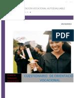 Test de Orientacion Vocacional Autoevaluable _ Carola Pozo Cortez - Academia
