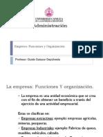 Clase 1 Funciones de La Empresa