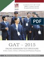 GAT 2015 Brochure