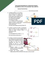 Enunciados Examen Fisica 20150328