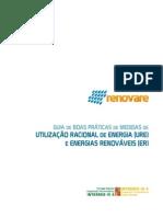Guia de Boas Práticas de Medidas de Utilização Racional de Energia e Energias Renováveis