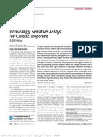 Increasingly Sensitive Assays for Cardiac Troponins
