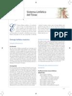 Sistema Linfatico del Torax y Drenaje linfatico
