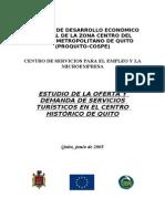Estudio de Oferta y Demanda de Servicios Del CH