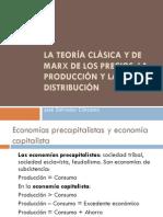 La Teoría Clásica y de Marx