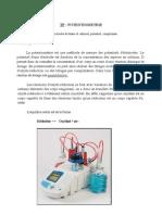 Potentiometrie TP