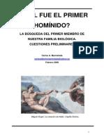 Primer Homínido