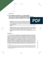La Reacción Antioriental de Los Nacionalistas Católicos Argentinos a Fines de Los Años 20