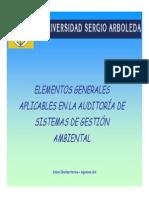 Principios Generales de Auditoria Ambiental 2015 -1