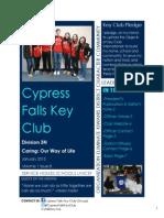 3N Cypress Falls January Newsletter