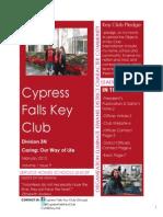 D3N Cypress Falls February Newsletter