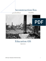 reconstruction era coversheet introduction overview
