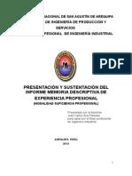 Informe 4 de Enero Del 2014 Para Enviar Señor Aza