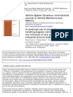 A Combined Use of Phase Plane and Handling Diagram Method to Study the Influence of Tyre and Vehicle Characteristics on Stability