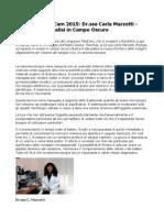 Congresso MedCam 2015 Dr.ssa Carla Marzetti Valsambro Analisi in Campo Oscuro