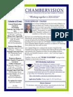 CHAMBERVISION - April 2015 Newsletter