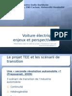 Voiture Electrique Enjeux Et Perspectives
