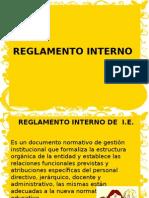 reglamento interno}