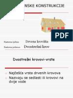 Dvostresni Krovovi Iz Rogova i s Pajantama