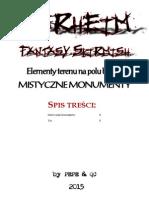 Mistyczne Monumenty - Elementy terenu na polu bitwy