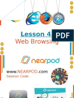 lesson 4-web browsers-websites