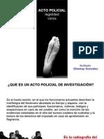 ACTAS POLICIALES