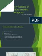 Estudio y Análisis en Tronadura en Mina Margarita Real