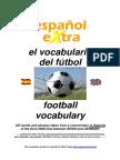 Vocabulario Especifico de Fútbol