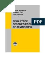 159-Semilattice Decompositions of Semigroups