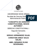 Conceptos de Derecho Constitucional Actualizado