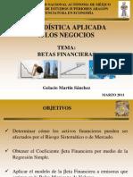 Tema 3. Betas Financieras