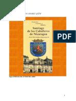 Vivencias, cuentos y relatos. Santiago de los Caballeros de Nicaragua