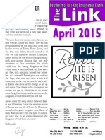 April 2015 LINK Newsletter