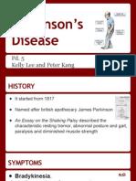 Parkinson's Disease Project