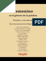 Memoria Encuentro Femenino es el género de la palabra 2015