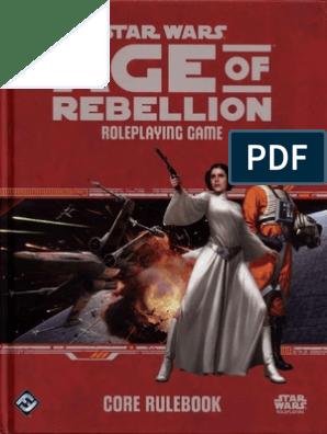 Age of Rebellion - Core Rulebook (SWA02) [OCR]   Galactic