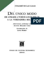 Bartolomé de Las Casas - Del Único Modo.