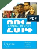 FEMYSO - Annual Report 2014