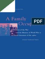 Jolanda Vanderwal Taylor-A Family Occupation(1997)